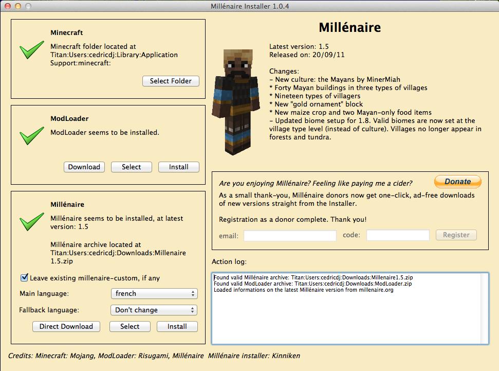 Скачать мод millenaire для майнкрафт 1.5 2
