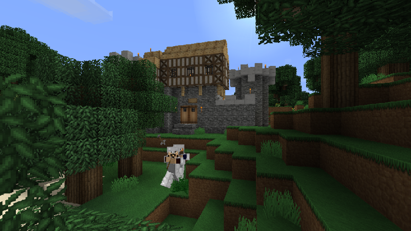 Minecraft Japanese Village millénaire - a minecraft village mod