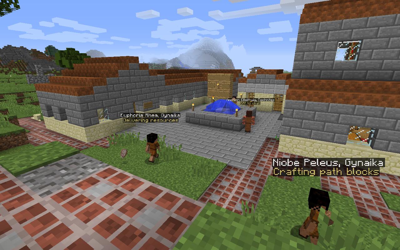 Minecraft Spielen Deutsch Minecraft Haus Bauen Mit Command Block - Minecraft haus bauen mit command block