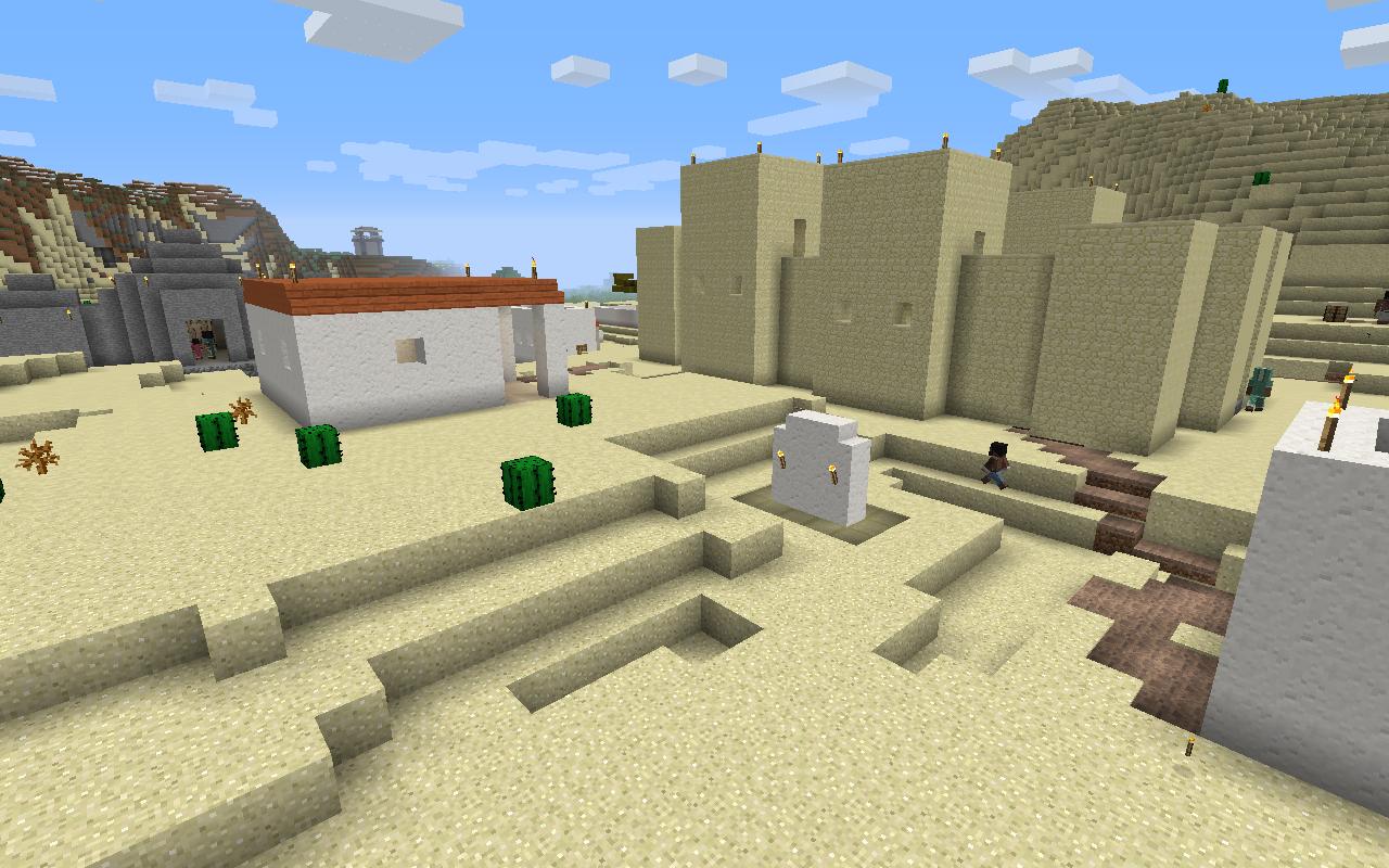 Millénaire A Minecraft Village Mod - Minecraft haus bauen mit command block