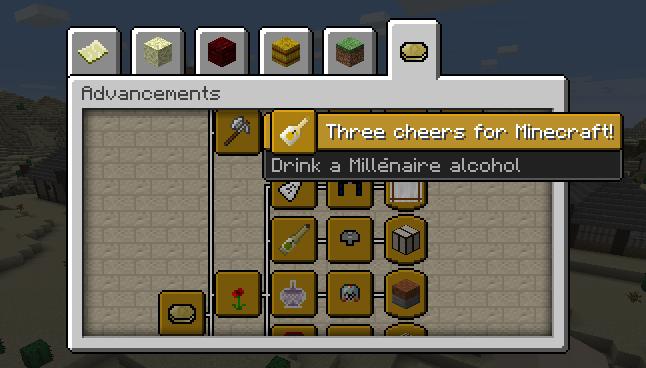 Millénaire > Advancements
