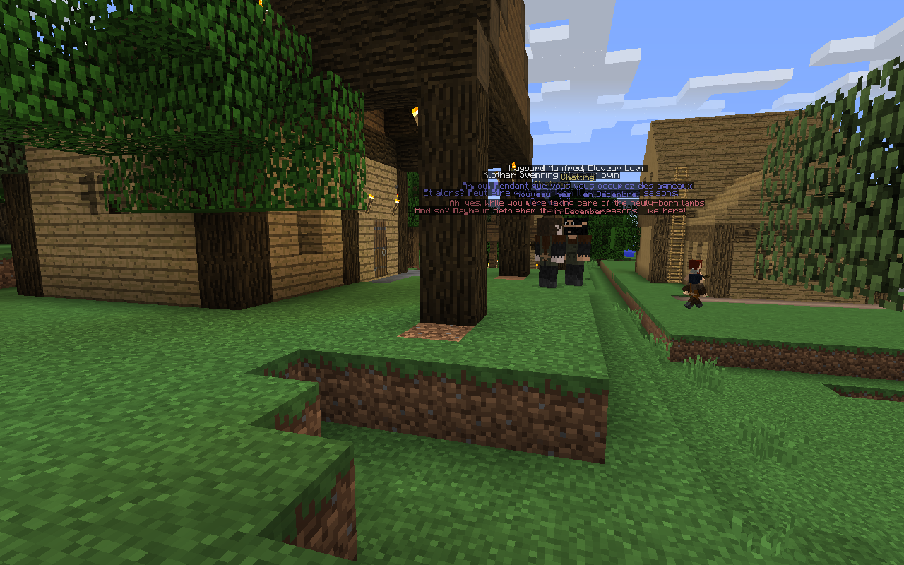 Millénaire, the historical Minecraft Village Mod