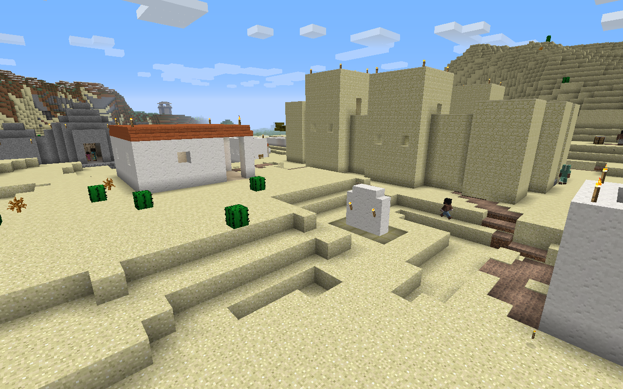 Millénaire, the historical Minecraft Village Mod