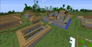 Millénaire Overviewde Millénaire Wiki - Minecraft hauser dorfbewohner